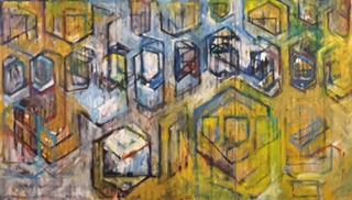 Chris Pelrine: Suburbia Paintings