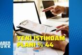 2021'de yeni istihdam planı yüzde 44 oldu