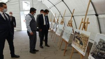 Vali Ayaz afet eğitim çadırını ziyaret etti