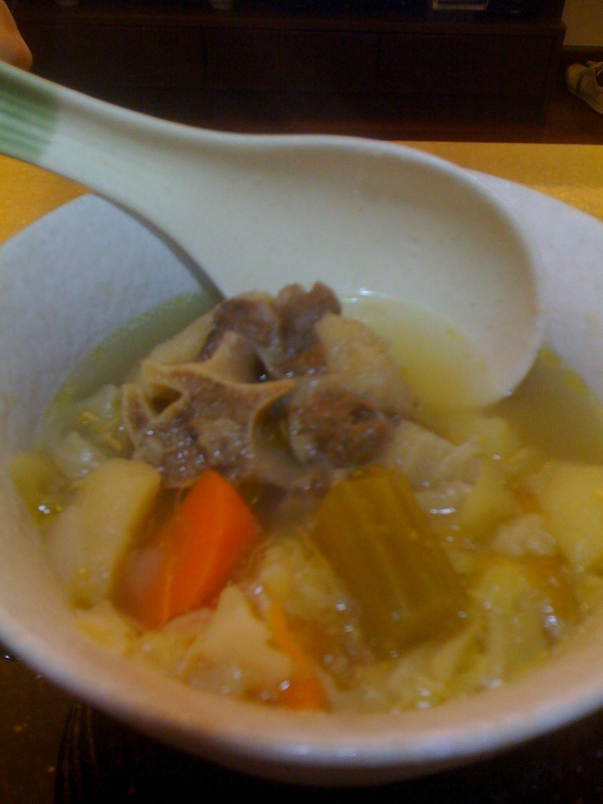 牛尾湯&雞粥 | —–能容天下—–