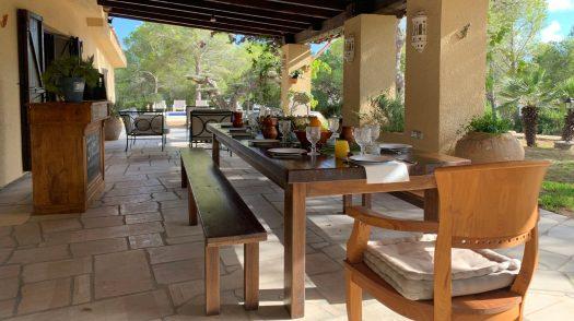 Terrasse / patio Villa CAN LEPEZ espagne
