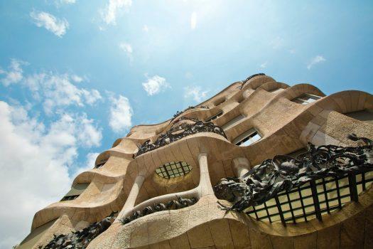 Barcelone Architecture Casa Milà (La Pedrera)