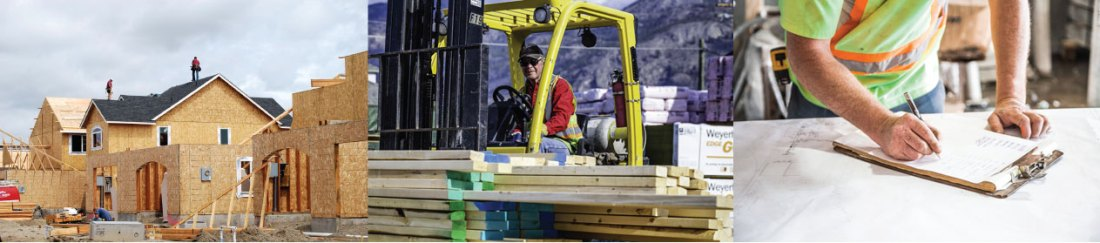 Construction and building supplies contact in Canmore.