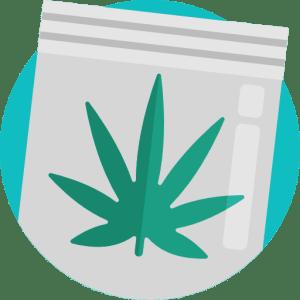 protected weed packaging
