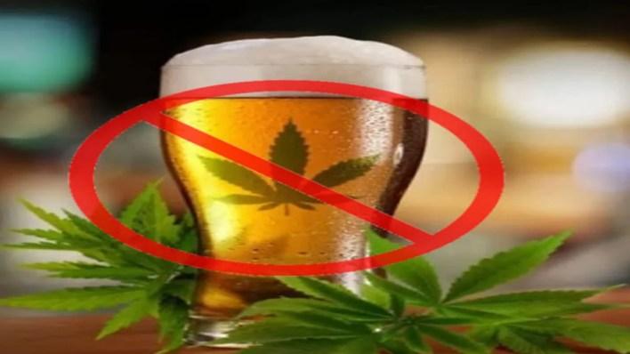 mélange alcool et cbd interdit
