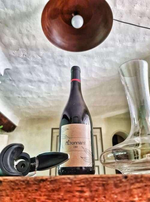 vin rouge L'Etonnant