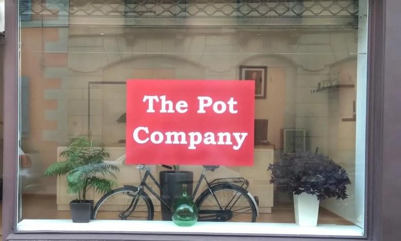 devanture de The Pot Company