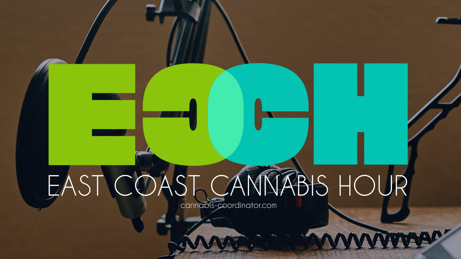 ECCH logo on microphone background