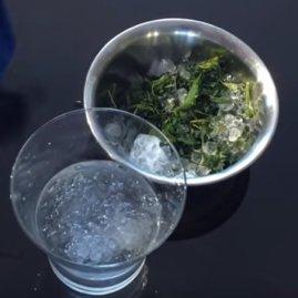 Wasser-Hasch Konzentrat