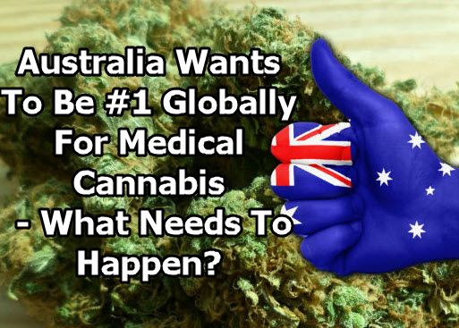 AUSTRALIA WANS TO EXPORT CANNABIS
