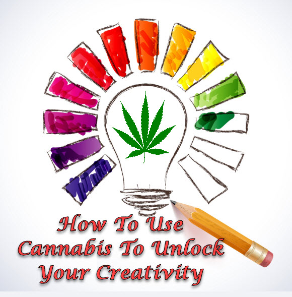 MARIJUANA FOR BEING CREATIVE