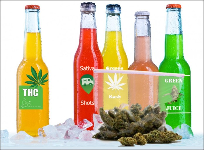 TOP 10 CANNABIS-INFUSED DRINKS RIGHT NOW