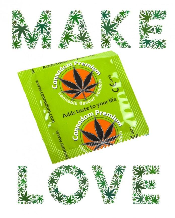 cannabis flavored condoms