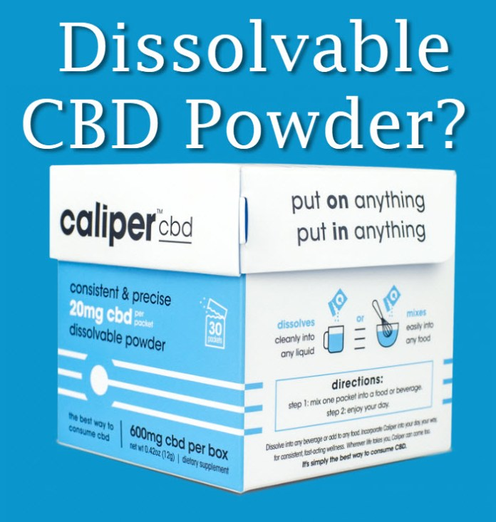 DISSOLVABLE CBD POWDER