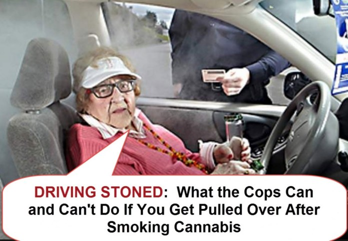 DRIVING STONED POLICE CAN AND CAN'T DO