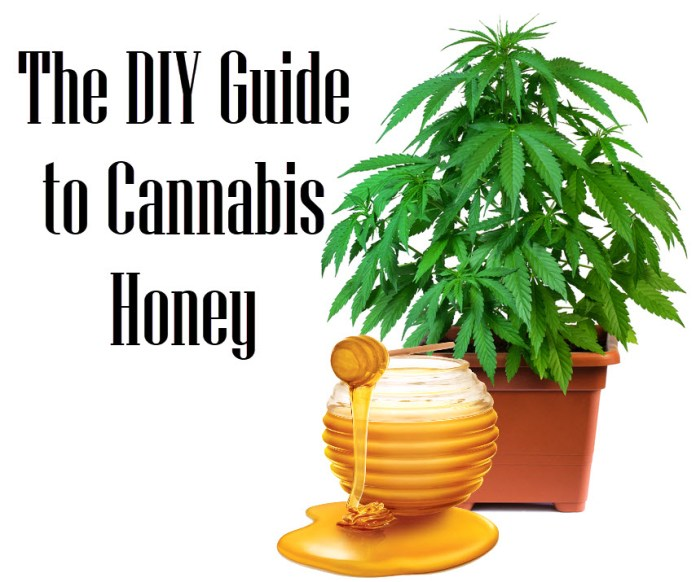 HOW TO MAKE CANNAHONEY OR WEED HONEY