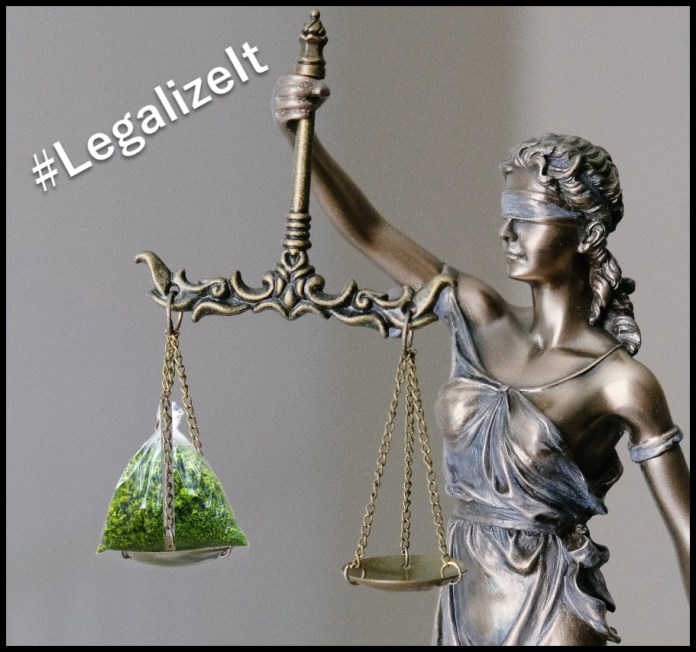 justice system and legalizing weed