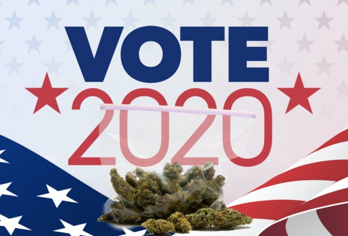 cannabis voting in 2020