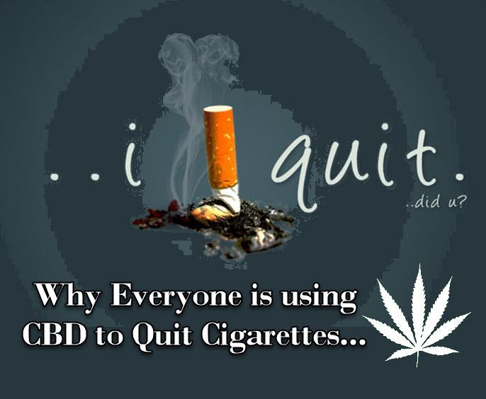 CBD TO QUIT SMOKING