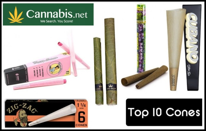 TOP 10 CONES AND PRE ROLLS