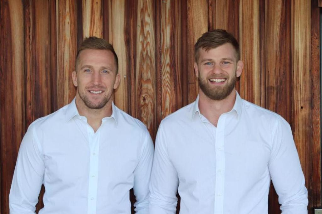 Dom Day (left) and George Kruis (right), co-founders of fourfivecbd