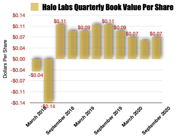 Halo Collective Book Value