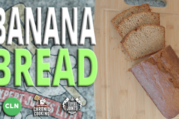 How to make cannabis infused banana bread with Craig Ex