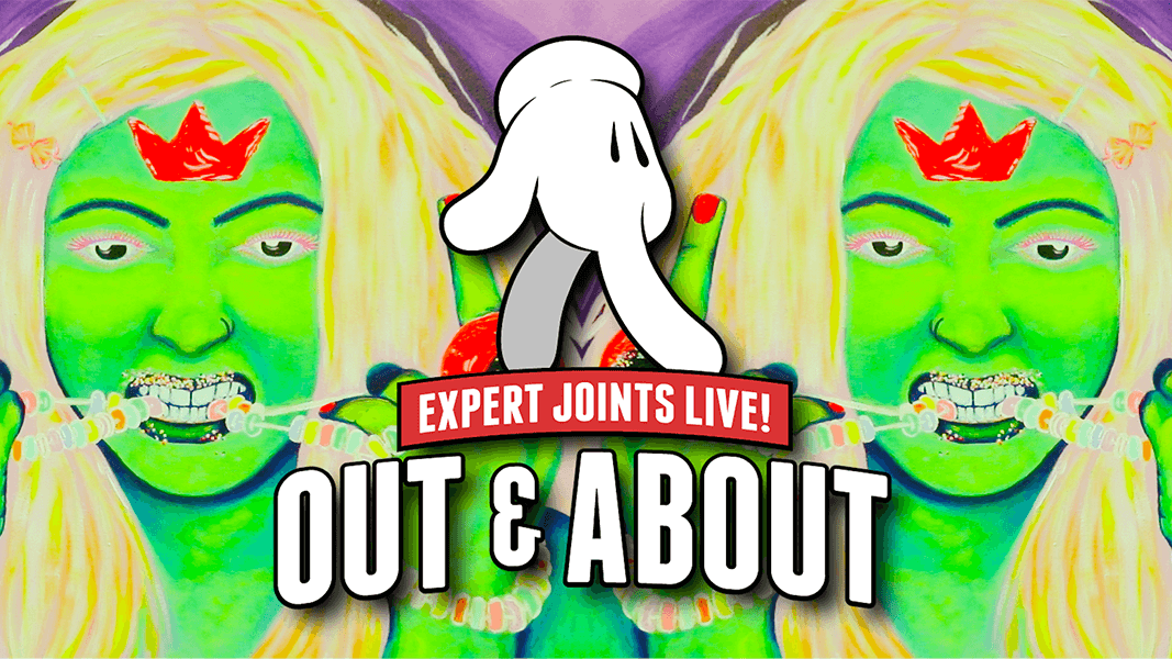 "Join Craig Ex of Expert Joints ""Out & About"" seeing what's new in weed"