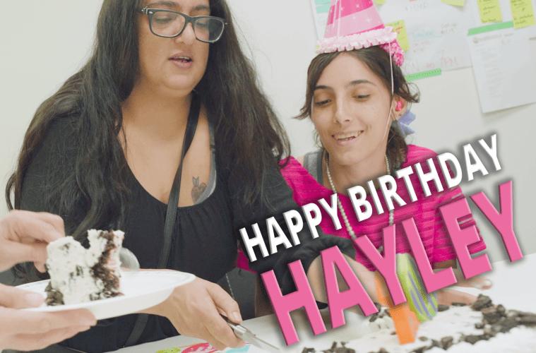 Happy Birthday Hayley Rose