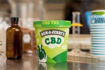 Ben and Jerry's Go CBD