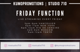 Friday Function Featuring DJ K-OG Live @Studio710