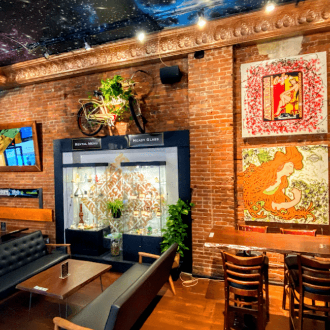 The New Amsterdam Cafe a perfect solace for cannabis-lovers