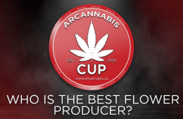 The branding of the ARCannabis Cup