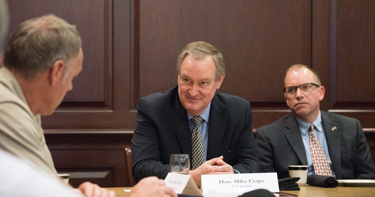 Senate Banking Committee Chairman Mike Crapo Pumps Brakes on Cannabis Banking Bill