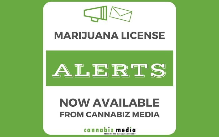 Marijuana License Alerts Now Available from Cannabiz Media