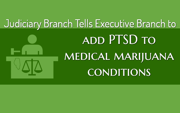 Judiciary Branch Tells Executive Branch to Add PTSD to Medical Marijuana Conditions