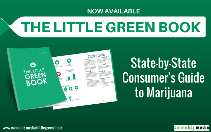 State-by-State Consumer's Guide to Marijuana Now Available
