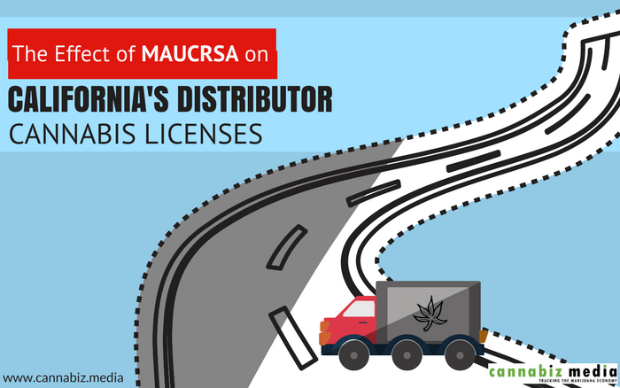 The Effect of MAUCRSA on California's Distributor Cannabis Licenses