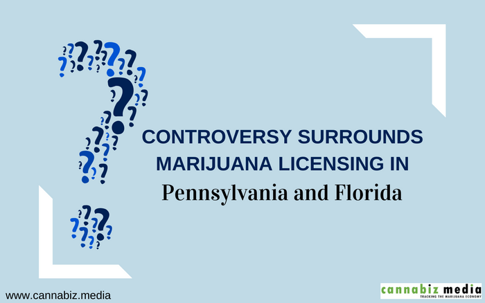 Controversy Surrounds Marijuana Licensing in Pennsylvania and Florida