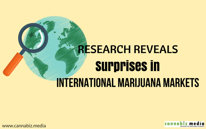 Research Reveals Surprises in International Marijuana Markets