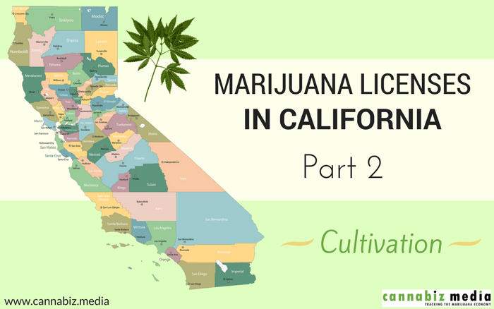 Marijuana Licenses in California – Part 2: Cultivation
