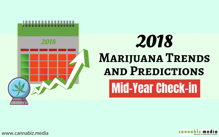 2018 Marijuana Industry Trends and Predictions Mid-Year Check-in