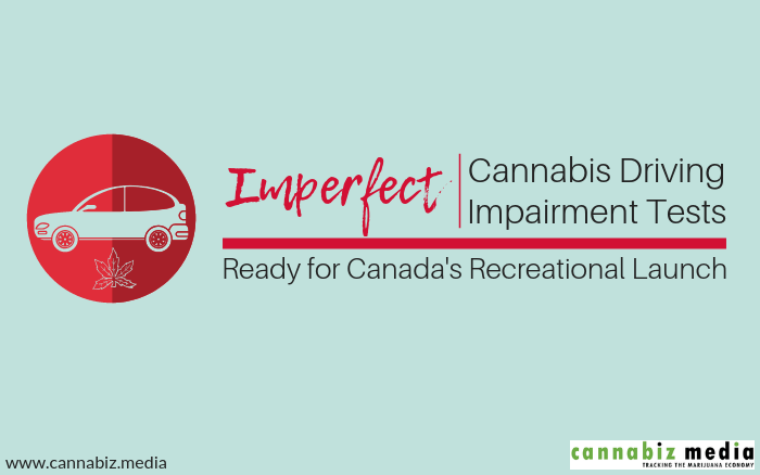 Imperfect Cannabis Driving Impairment Tests Ready for Canada's Recreational Launch