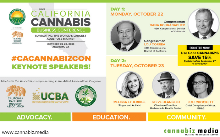 Join Cannabiz Media at the California Cannabis Business Conference