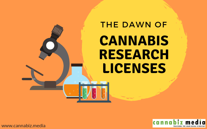 The Dawn of Cannabis Research Licenses