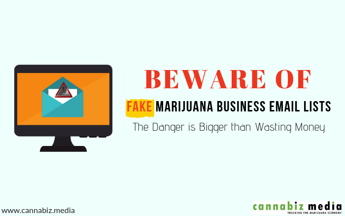 Beware of Fake Marijuana Business Email Lists – The Danger is Bigger than Wasting Money