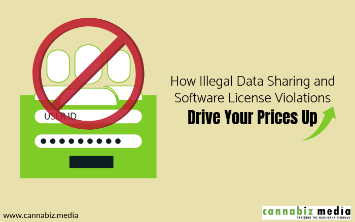 How Illegal Data Sharing and Software License Violations Drive Your Prices Up