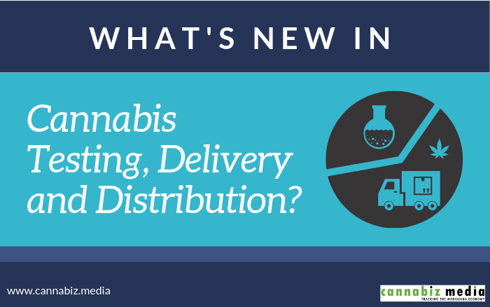 What's New in Cannabis Testing, Delivery and Distribution?
