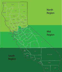 Breakdown of licensee access in California.