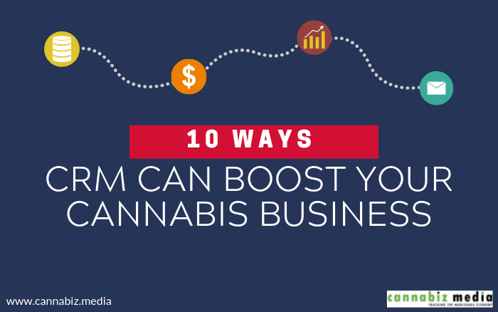10 Ways CRM Can Boost Your Cannabis or Cannabis-Related Business